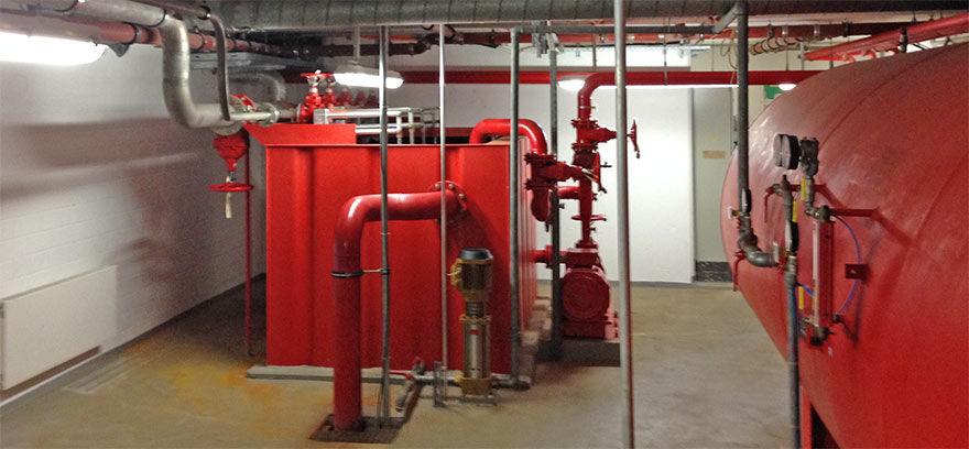 Wasservorratsbehälter Druckluftwasserkessel